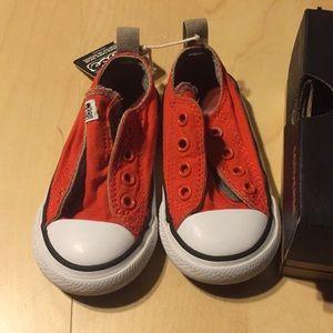 Converse slip on infant shoes